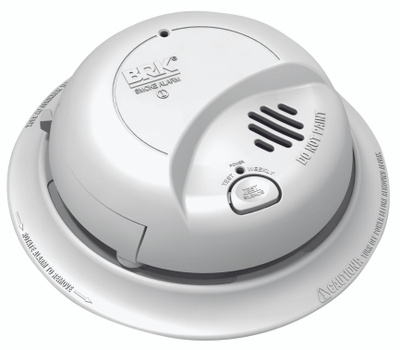 First Alert 9120B Hardwired Smoke Alarm With Battery Back-Up