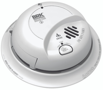 First Alert SC9120B Hardwired Smoke & Carbon Monoxide Combination Alarm With Battery Backup
