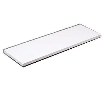 Knape & Vogt 1980WH-10X48 10 By 48 White Prefinished Shelf