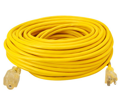 Southwire 1689SW0002 100 Foot 12/3 Outdoor Extension Cord