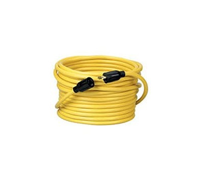 Coleman Cable 090288802 12/3 By 50 Foot Twist Lock Extension Cord