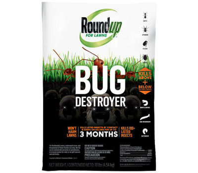 Roundup 4385404 Destroyer Lawn Bug & Grub 10 Pound