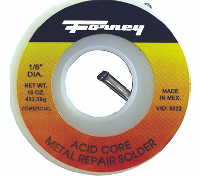 Forney 38102 Solder 1 8in Ac30tin 70l 1 2 Pound