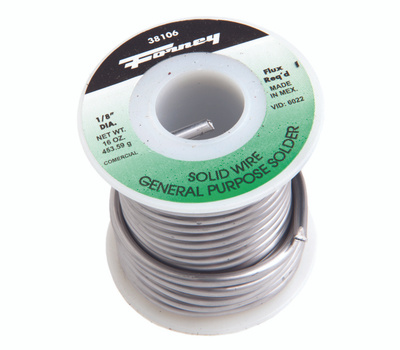Forney 38106 Solder 1 8in Com Solidwire 1 Pound
