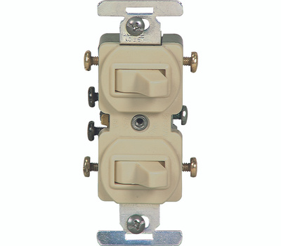 cooper wiring 276v box 3 way duplex switches ivory. Black Bedroom Furniture Sets. Home Design Ideas