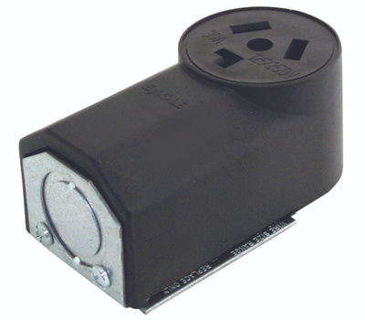 Cooper Wiring 125 30 Amp 3 Wire Dryer Power Receptacle ...
