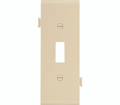 Cooper Wiring STC1V Snap Together Toggle Center Plate Ivory