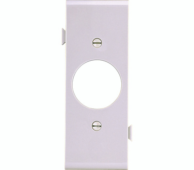 Cooper Wiring STC7W Snap Together Single Receptacle Center Plate White