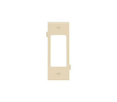 Cooper Wiring STC26V Snap Together Decor Center Plate Ivory
