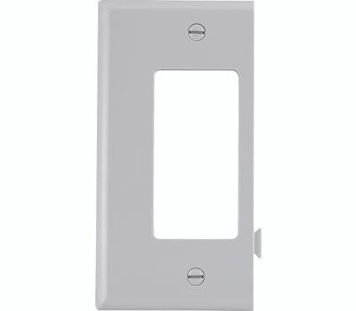 Cooper Wiring STE26W Snap Together Decor End Plate White