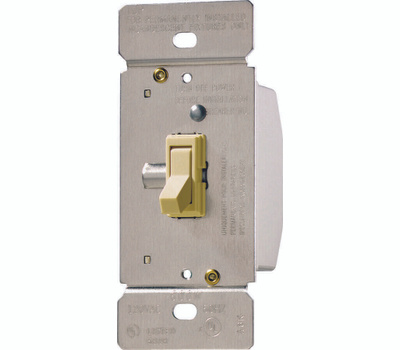 Cooper Wiring TI061-V-K Toggle Dimmer Ivory