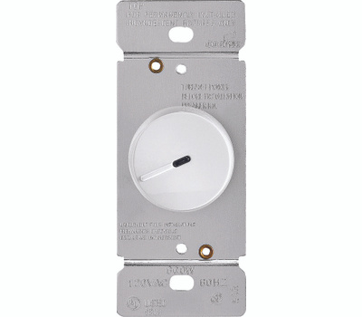 Cooper Wiring RI06PL-W-K Rotary Dimmer With Preset White