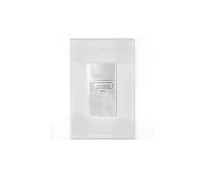 Eaton Cooper Wiring VS310U-W-K Savant Occupancy And Vacancy Motion Sensor Switch With LED Light White