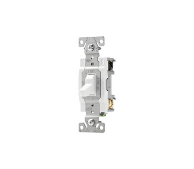 Eaton Cooper Wiring WDCSB415W-PDH Switch C-Grade 4-Way Tri/Cmbo