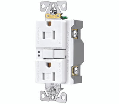 Cooper Wiring SGF15W-3 Arrowhart 3 Pack 15 Amp GFCI Duplex Recepticle on conduit wiring, led wiring, daisy chain wiring, distribution board, earthing system, power cable, three-phase electric power, national electrical code, alternating current, duplex wiring, lutron wiring, afci wiring, power cord, ground and neutral, plumbing wiring, knob-and-tube wiring, extension cord, junction box, electrical wiring, electric power distribution, low voltage wiring, 220 volt to 110 volt wiring, dimmer wiring, circuit wiring, ground wiring, electricity wiring, circuit breaker, electrical engineering, electric motor, amp wiring, 3 phase breaker panel wiring, receptacles wiring, electrical conduit, hot tub wiring, timer wiring, wiring diagram, diy wiring,