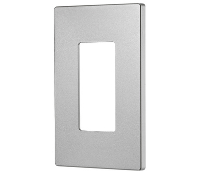 Cooper Wiring PJS26SG-SP-L Wallplate 1G Deco Poly Mid Sg