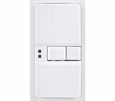 Cooper Wiring SGFD20W 20 Amp GFCI Recepticle Blank Face With Wallplate White