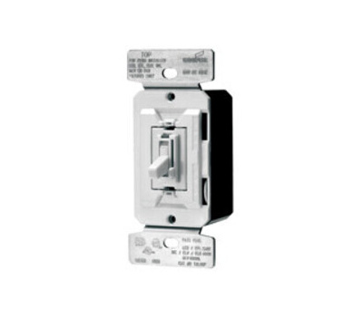 Cooper Wiring TUL06P-CK2-KBL Trace AL Dimmer Toggle All Load