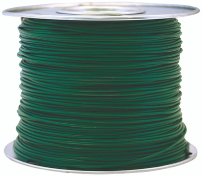 Coleman Cable 56133023 100 Foot Spool 10 Gauge Primary Wire Green