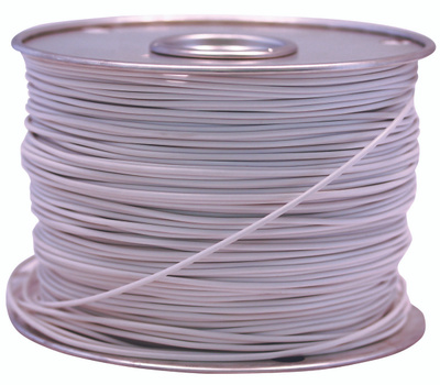 Coleman Cable 55667223 Wire Primary White 100Ft 18Ga