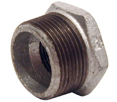 B&K Mueller 511-973HC 1-1/2 By 1/2 Inch Galvanized Hex Bushing