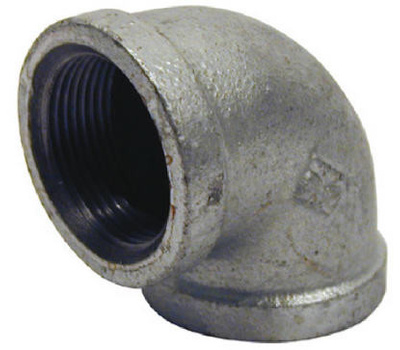 B&K Mueller 510-008HN 2 Inch Galvanized 90 Degree Elbow