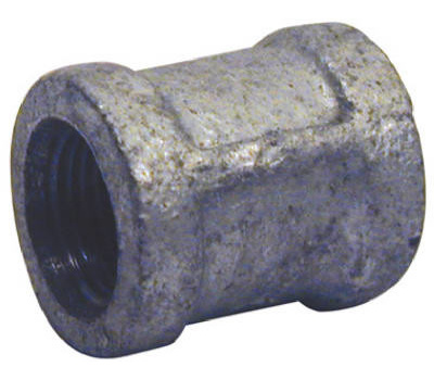 B&K Mueller 511-201HN 1/4 Inch Galvanized Coupling With Stop