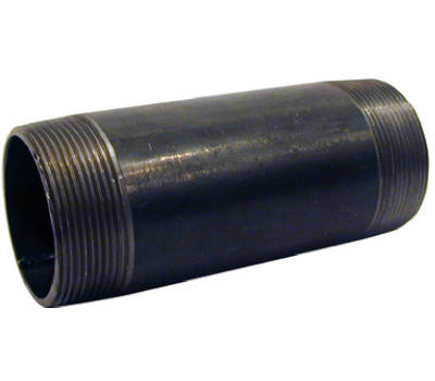 B&K Mueller NB-1040 1 By 4 Inch Black Pipe Nipple