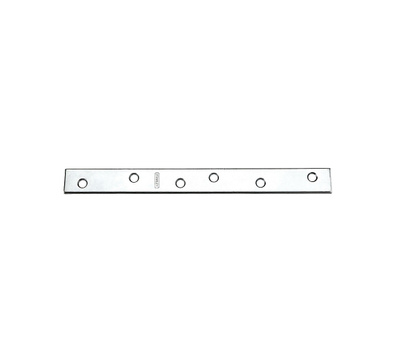 National Hardware S301-140 N220-327 Stanley 10 By 1 Inch Zinc Mending Plate Zinc Plated Steel