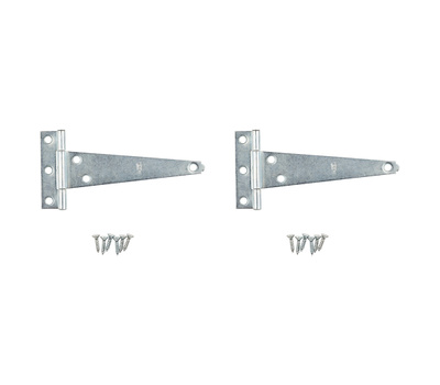 National Hardware S754-420 N128-587 Stanley Light Duty T-Hinges 4 Inch Zinc Plated Steel 2 Pack