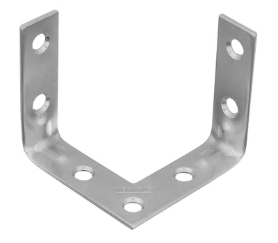 National Hardware S756-550 Stanley Triple Surface Corner Braces 2 Inch Zinc Plated Steel 2 Pack