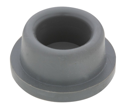 National Hardware S577-097 N215-889 Stanley Concave Wall Door Stops 1-7/8 Inch Gray 2 Pack