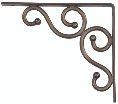 National Hardware N236-214 = S250-592 Stanley NOW 886780022049 Traditional Shelf Bracket 7 By 8 Inch Antique Bronze