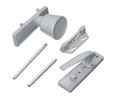 National Hardware S111-433 Stanley Screen & Storm Universal Knob Latch Aluminum