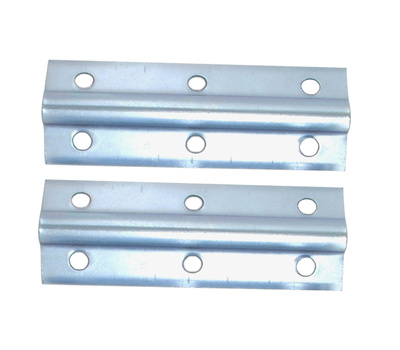 National Hardware S755-510 Stanley Wide Inside Corner Braces 4 By 3/4 By 0.04 Inch Zinc Plated Steel 2 Pack