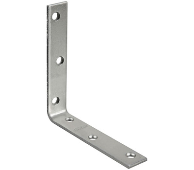 National Hardware S756-518 Stanley Corner Braces 5 By 7/8 By 0.16 Inch Zinc Plated Steel 2 Pack