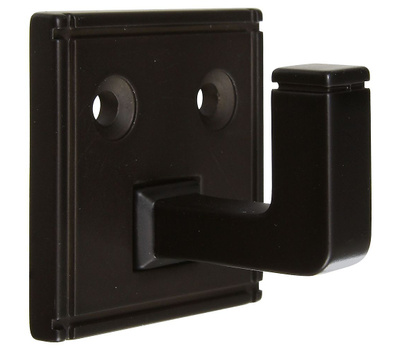 National Hardware S804-187 Stanley Ranch 1-3/4 Inch Single Hook Oil-Rubbed Bronze