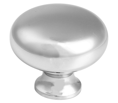 National Hardware S804-948 Stanley Classic Round Cabinet And Drawer Knob 1-1/4 Inch Polished Chrome
