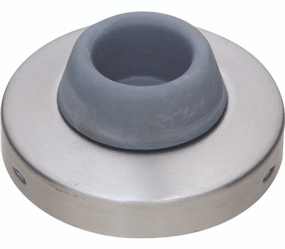 National Hardware S829-325 N829-272 Stanley Commercial Concave Wall Door Stop 2-1/2 Inch Satin Stainless Steel