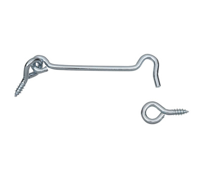 National Hardware S750-710 Stanley Hook And Eye 5 Inch Zinc Plated Steel