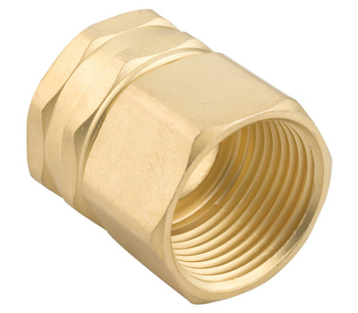 Fiskars 807764-1001 Hose Connector Double Female 3/4 Inch By 3/4 Inch