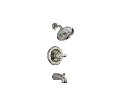 Delta Faucet 14478-SSSHL Faucet Tub And Shower 1 Handle Stainless Steel