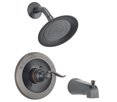 Delta Faucet 144996-OB Tub And Shower Faucet Single Oil Rubbed Bronze