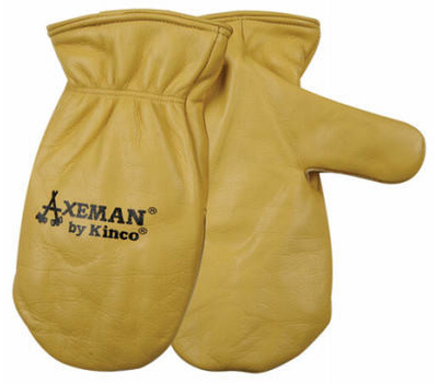Kinco 1930-XL Cowhide Leather Axeman Style Insulated Mittens Extra-Large