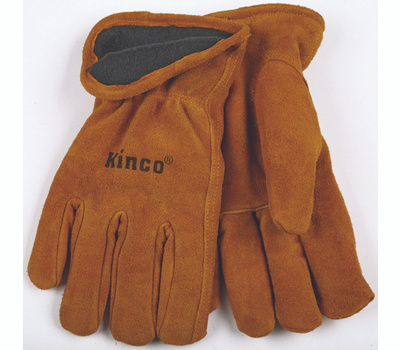 Kinco 50RL-XL Full Suede Cowhide Thermal Lined Gloves Extra-Large