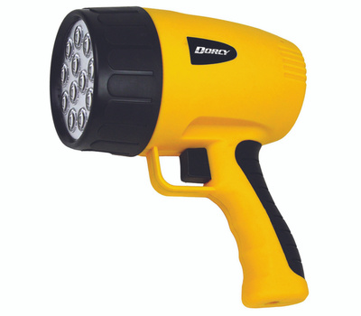 Dorcy 41-1050 Spotlight 12Led Rechrg Yellow