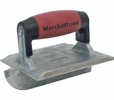 Marshalltown 834D 1/4 Inch Rad Zinc Groover 6 By 4 Inch
