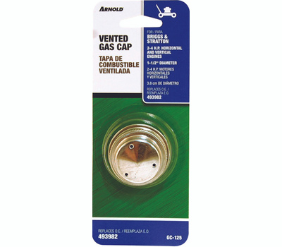 Arnold GC-125 1 1/2 Inch Gas Cap Briggs And Stratton 298425