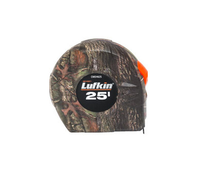 Lufkin CMOH625 Tape Measure Pwr Camo 1Inx25ft