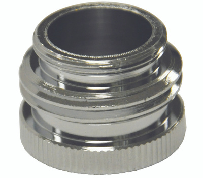 Danco 10509 Garden Hose Adapter Male And Female Chrome